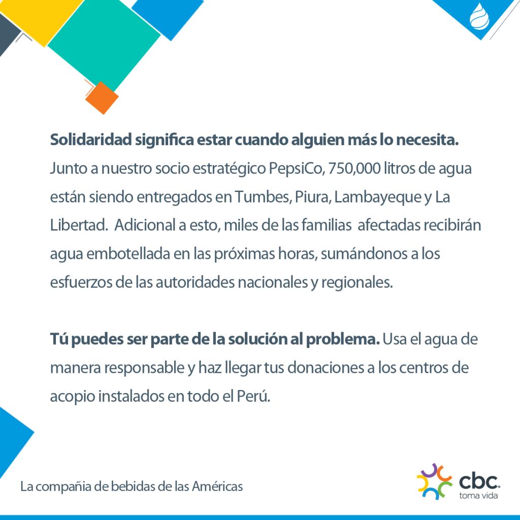 comunicado CBC #unasolafuerza